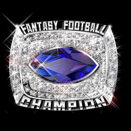 ring trophies large products championship rings fantasy football